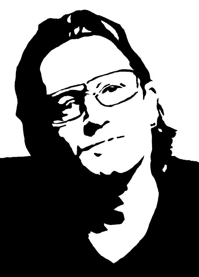 Bono Painting - Bono by Monofaces