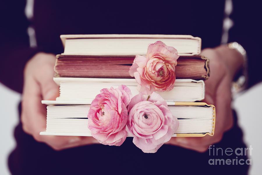 Book Photograph - Book Love by Kim Fearheiley