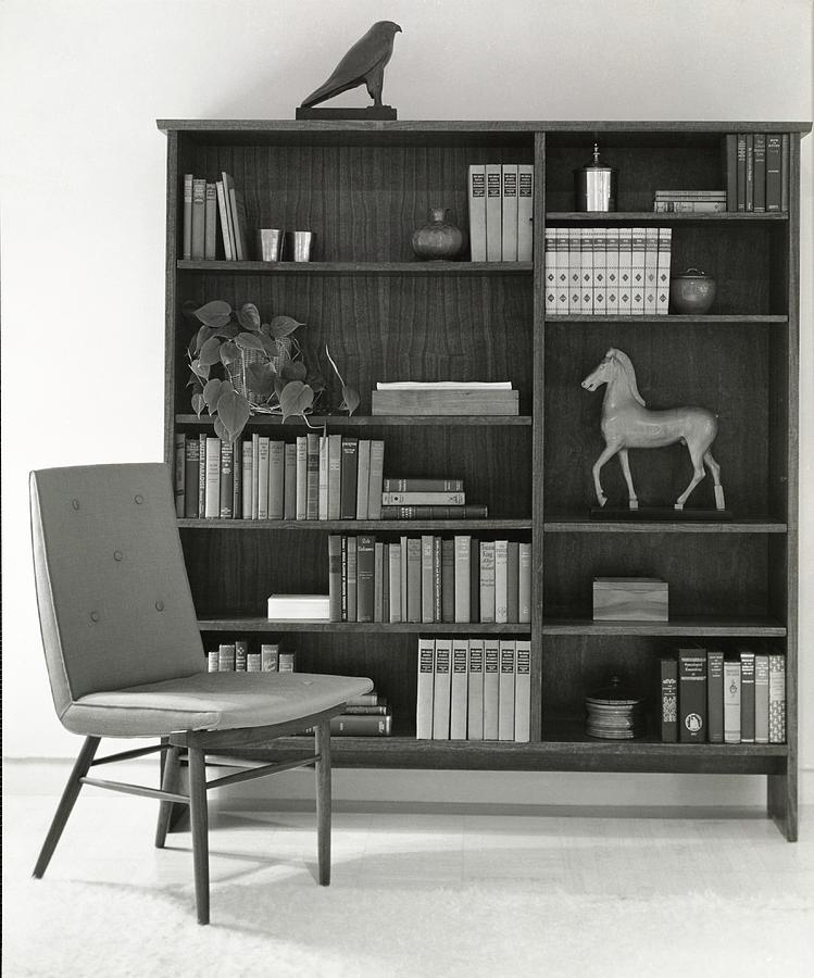 Bookcase By The Baker Furniture Company Photograph by Tom Leonard