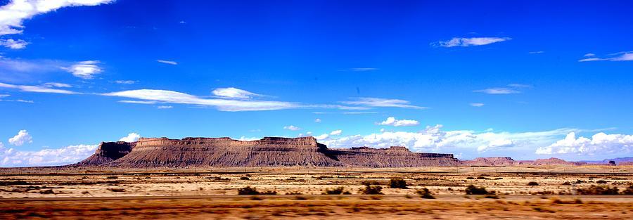 Bookcliff Mountains Utah Photograph