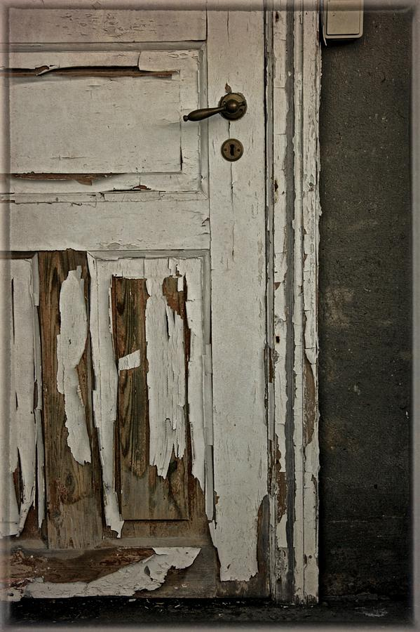 Door Photograph - Books And Their Covers by Odd Jeppesen
