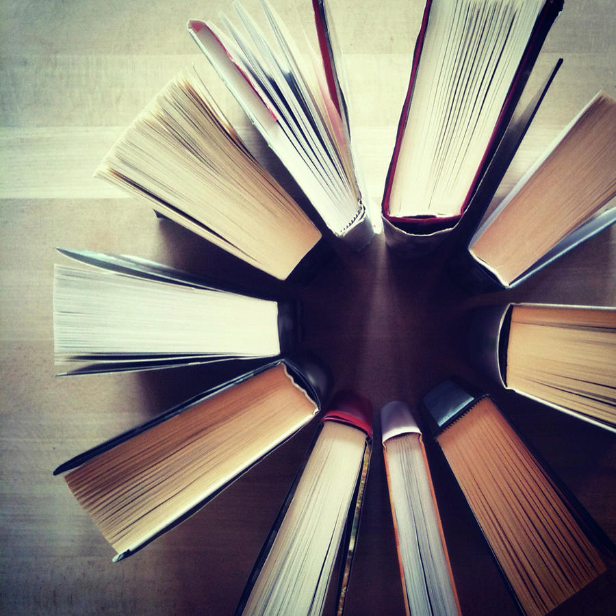 Books Photograph by Lasse Kristensen