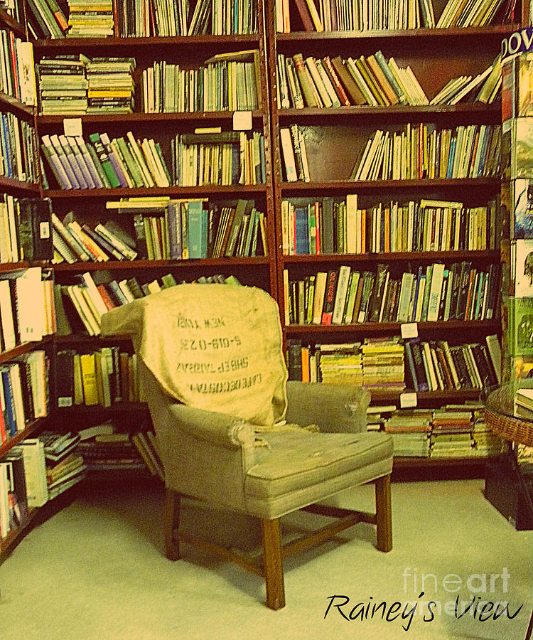 Books Photograph - Bookstore Nook by Lorraine Heath