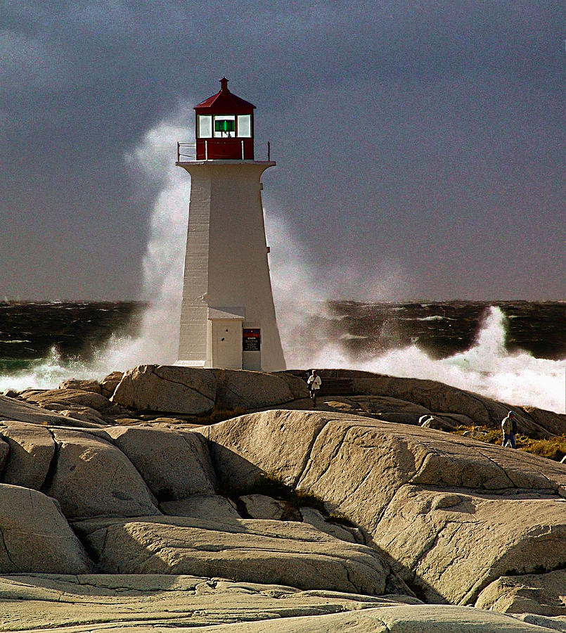 Nova Scotia Photograph - Boomer by George Cousins