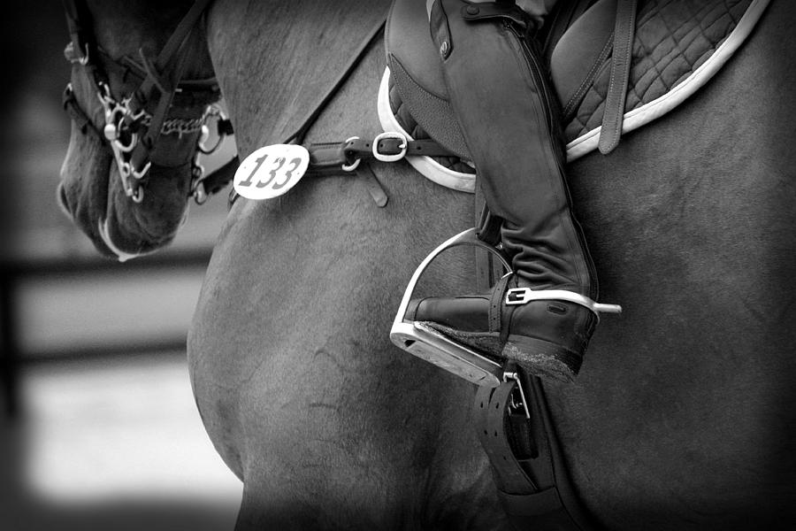 Boot and Spur Monochrome by M Davis