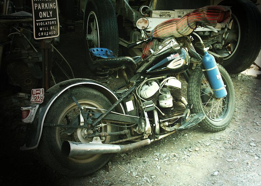 Harley Davidson Photograph - Born In The Usa by Christine Till