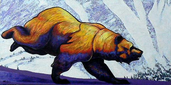 Wildlife Painting - Born To Be Wild by Joe  Triano