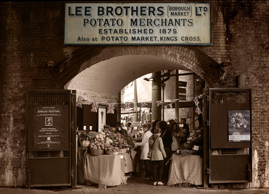 Market Photograph - Borough Market by Stephen Norris