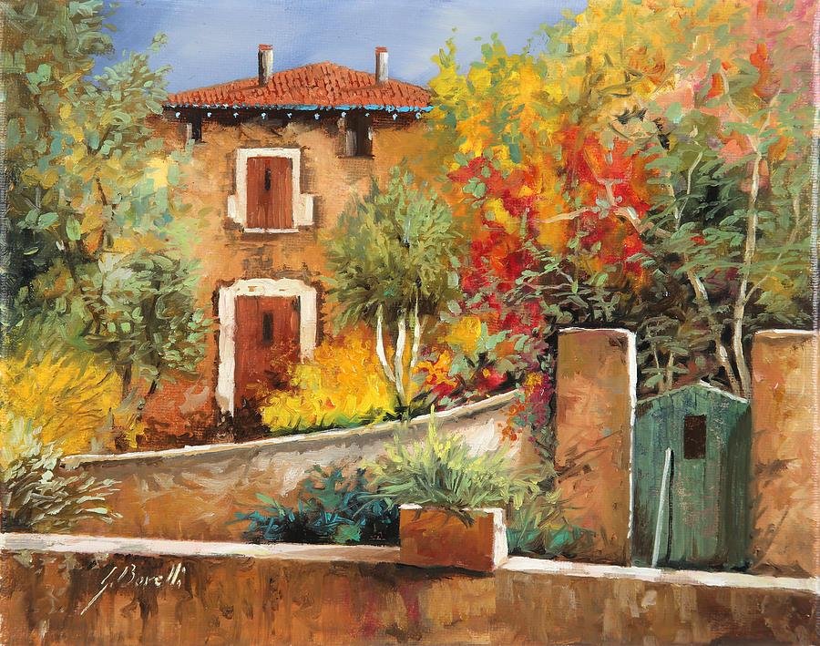 House Painting - Bosco Giallo by Guido Borelli