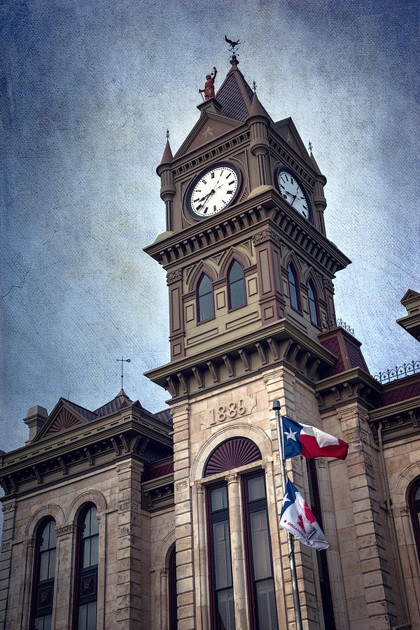 Bosque County Courthouse Photograph