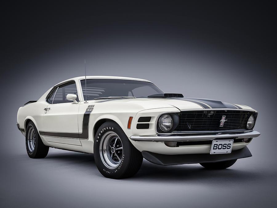 Mustang Digital Art - Boss by Douglas Pittman