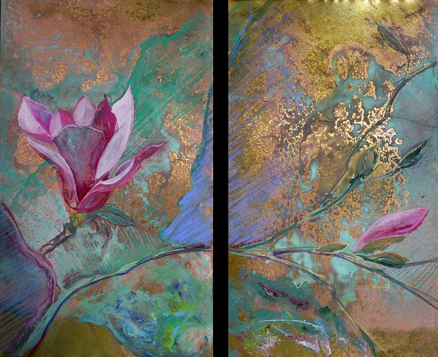 Blossoms Mixed Media - Bossom 2 by Dayton Claudio