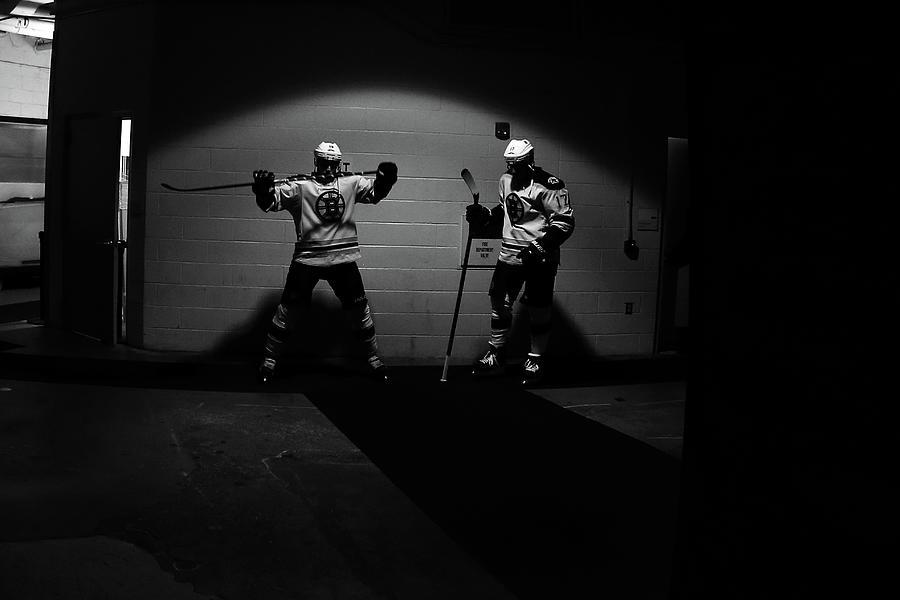 Boston Bruins V New York Rangers - Game Photograph by Bruce Bennett