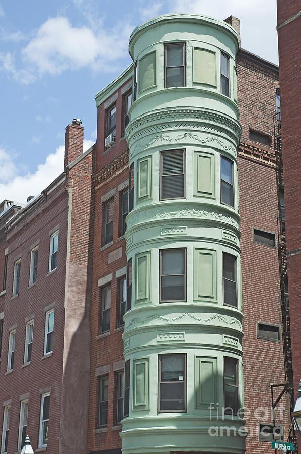 Boston Building Photograph