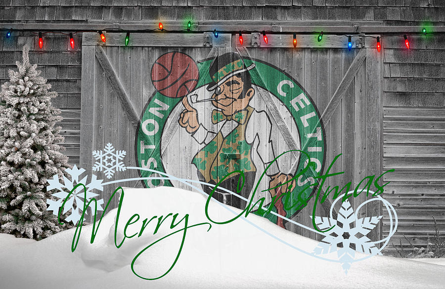 Celtics Photograph - Boston Celtics by Joe Hamilton