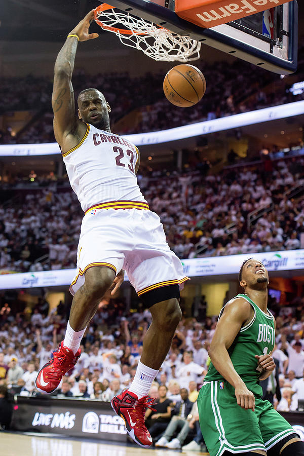 Boston Celtics V Cleveland Cavaliers - Photograph by Jason Miller