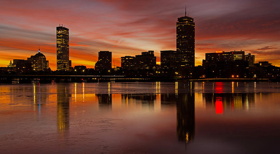 Boston Photograph - Boston Dawn by Ken Stampfer