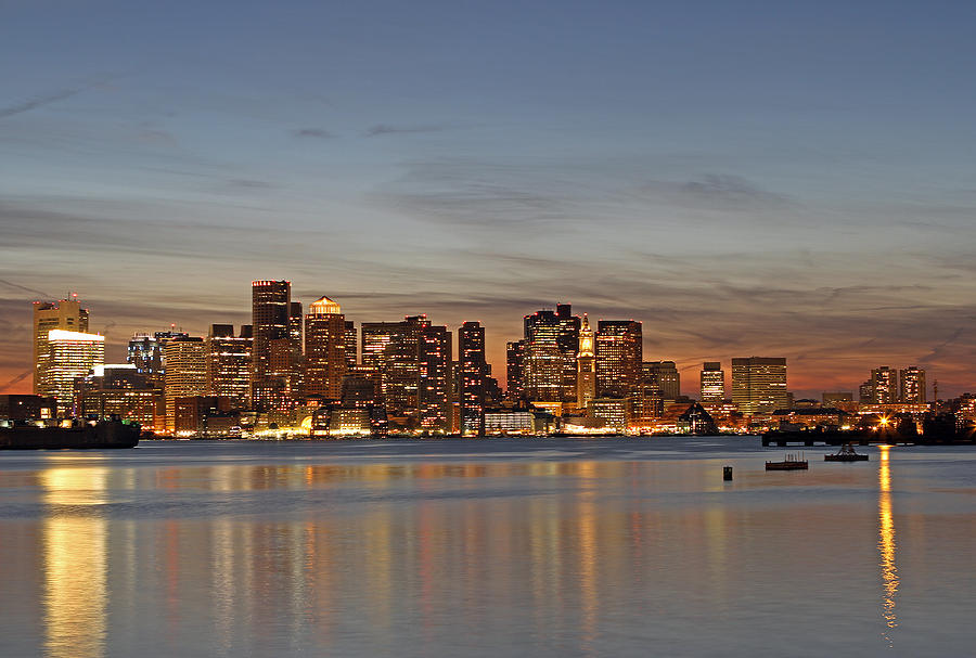 Boston Photograph - Boston Downtown by Juergen Roth