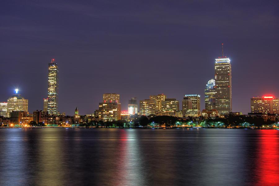 Boston From Memorial Drive Photograph By Joann Vitali