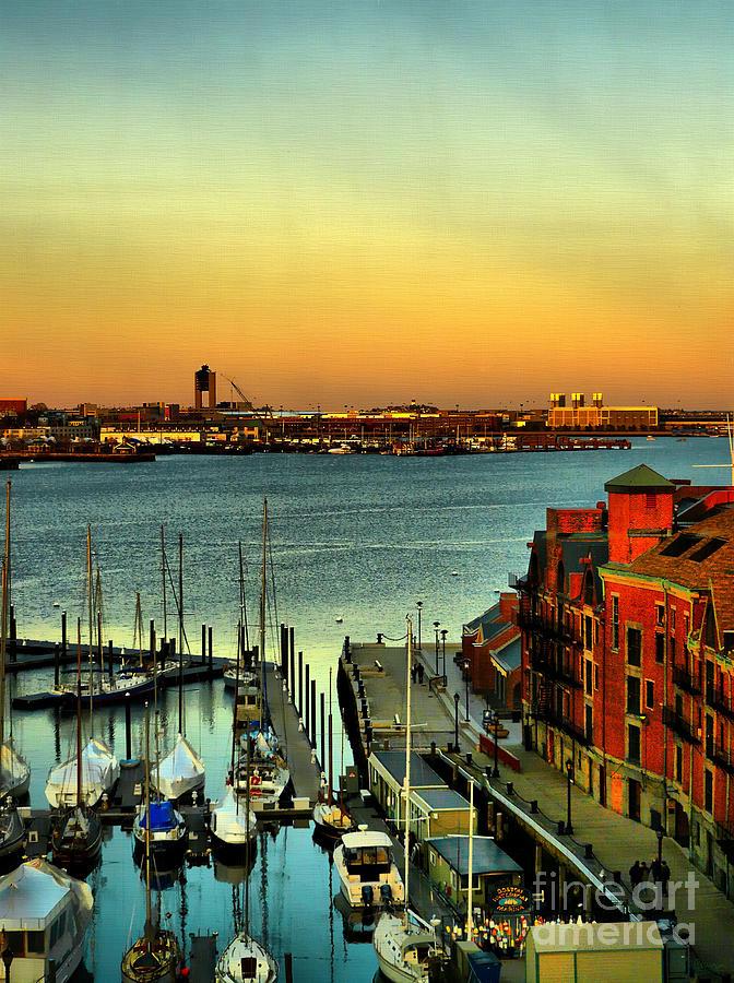 Boston Harbor Photograph - Boston by Jeff Breiman