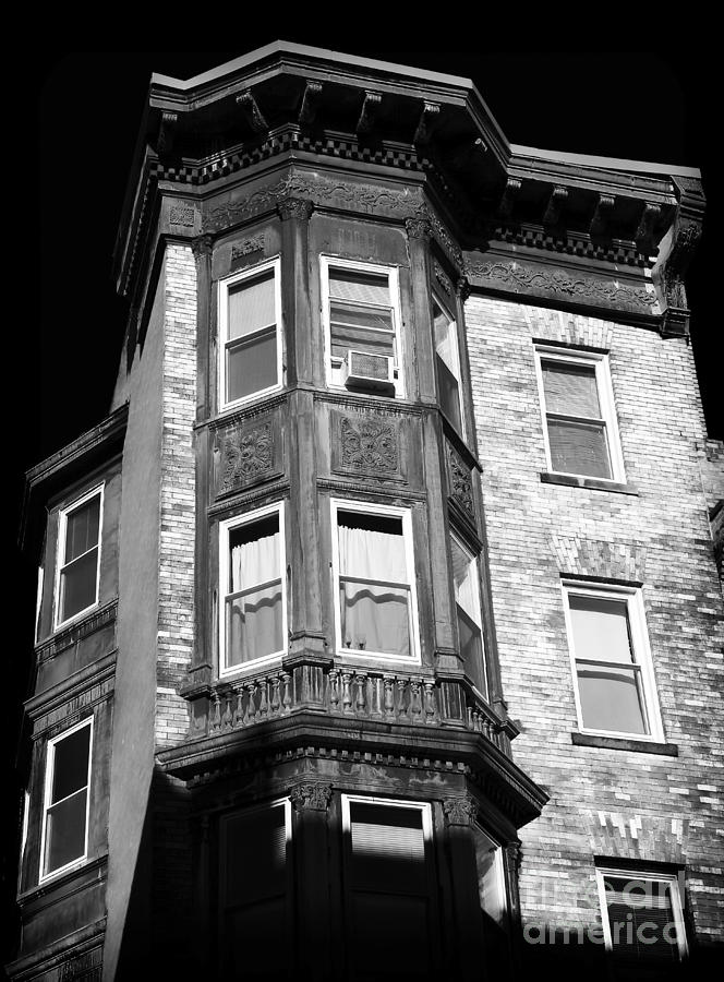 Building Photograph - Boston Living by John Rizzuto