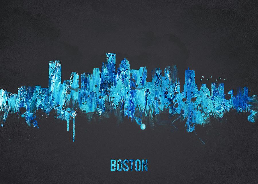 Architecture Digital Art - Boston Massachusetts Usa by Aged Pixel