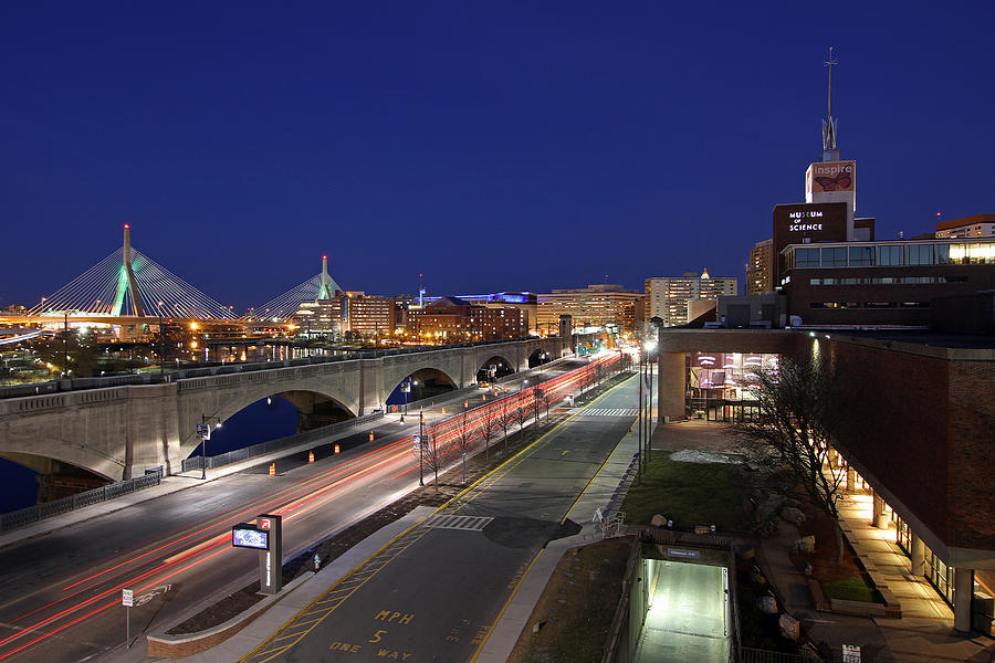 Boston Photograph - Boston Museum Of Science by Juergen Roth