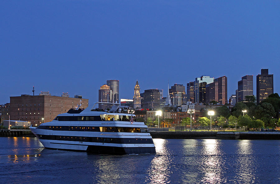 Boston Odyssey Photograph - Boston Odyssey Cruise Ship by Juergen Roth
