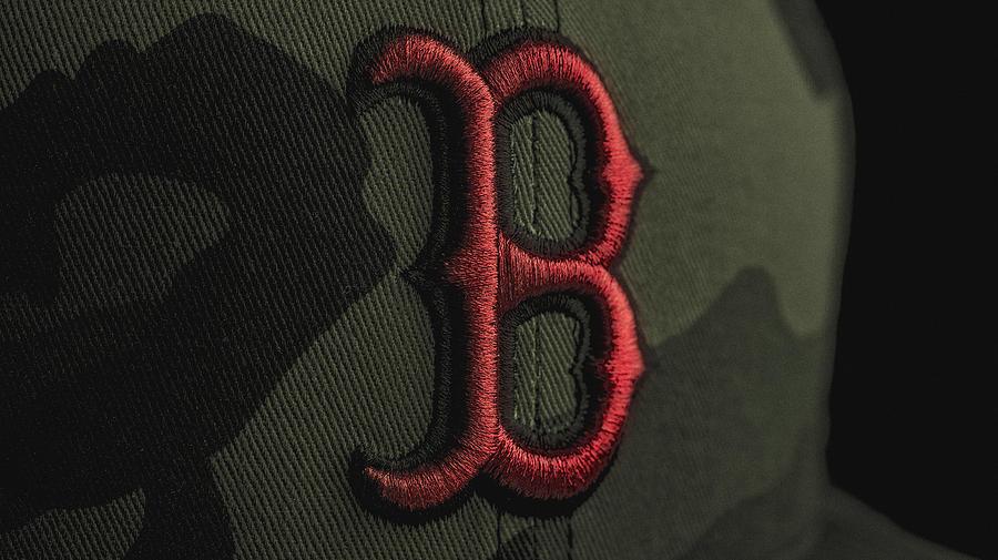 Boston Photograph - Boston Red Sox by David Haskett