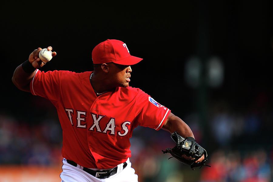 Boston Red Sox V Texas Rangers Photograph by Sarah Crabill