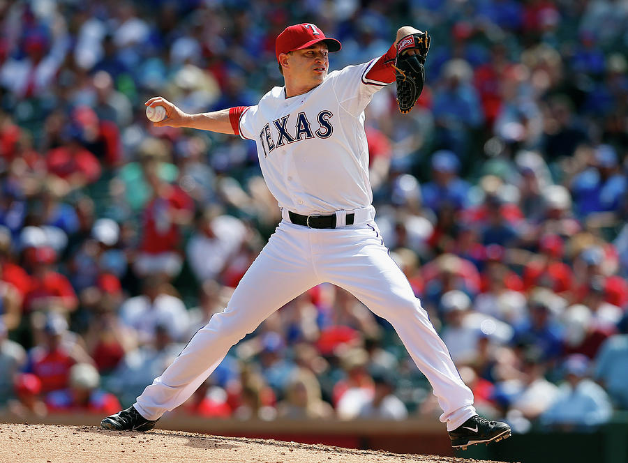 Boston Red Sox V Texas Rangers Photograph by Tom Pennington
