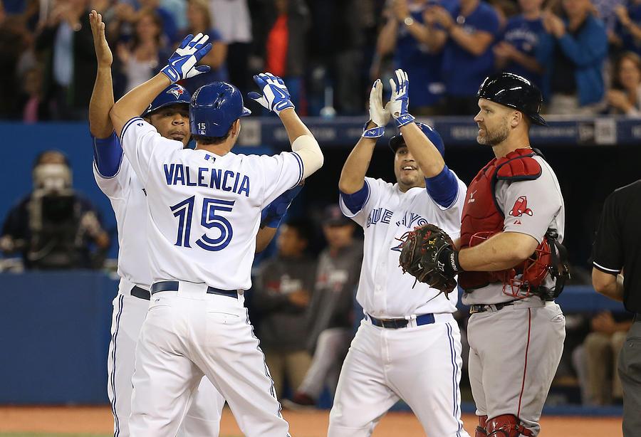 Boston Red Sox V Toronto Blue Jays Photograph by Tom Szczerbowski