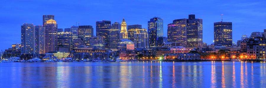 Boston Skyline Panoramic 4 Photograph By Joann Vitali
