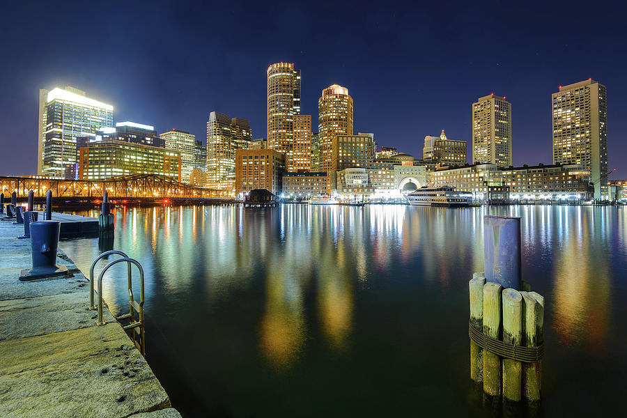 Boston Skylines Photograph by Noppawat Tom Charoensinphon