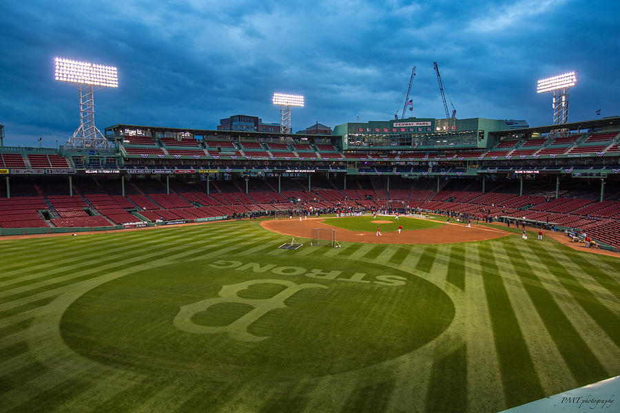 Fenway Park Photograph - Boston Strong by Paul Treseler