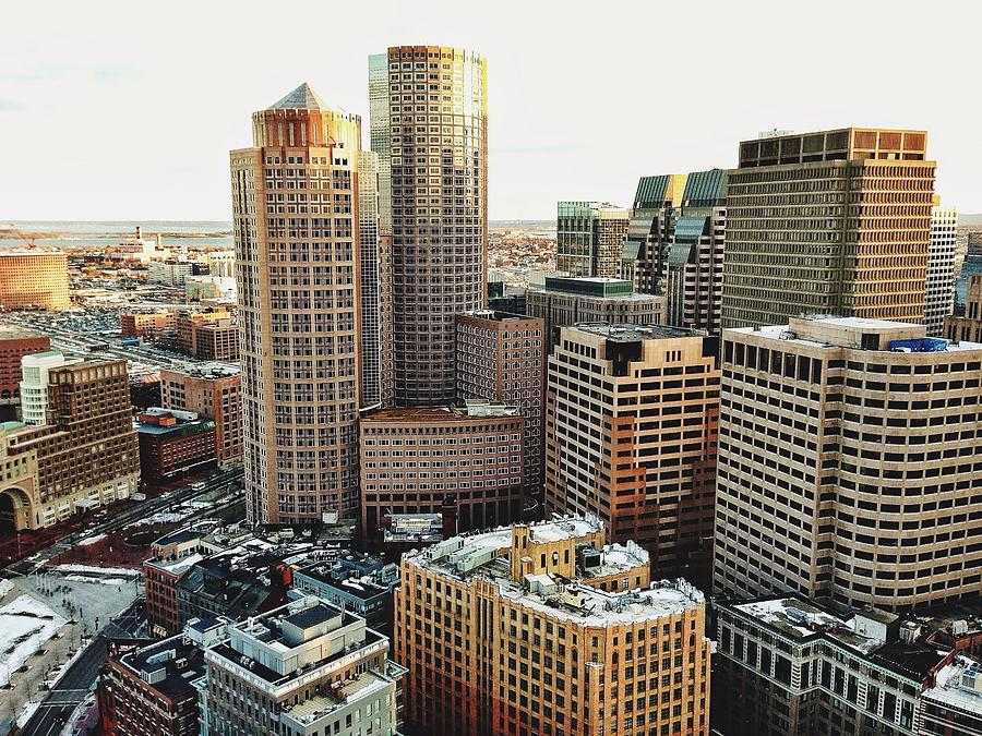 Boston View Photograph by Anthony Tulliani