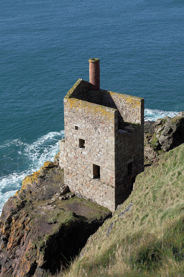 Botallack Tin Mine St Just, Cornwall Photograph by Anthony Collins