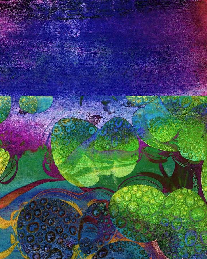 Flower Mixed Media - Botanical Elements II by Ricki Mountain