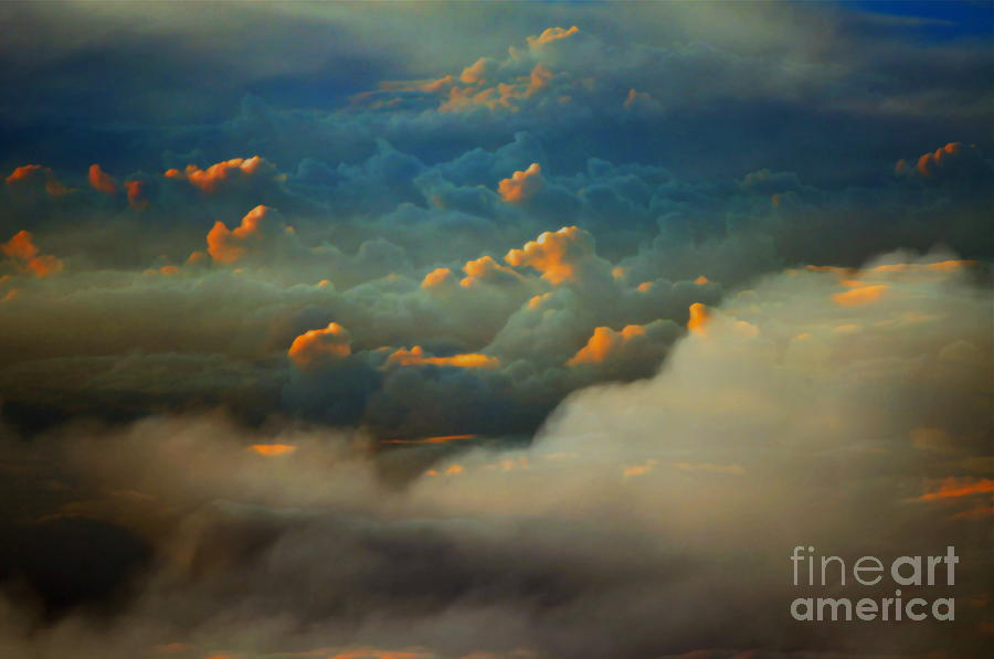 Cloud Photograph - Both Sides by Gwyn Newcombe