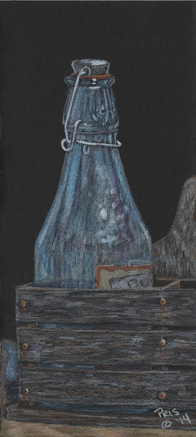 Bottle of Blue by Pris Hardy