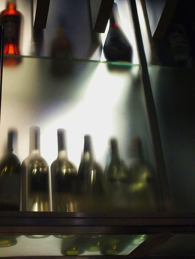 Bottles Photograph - Bottles II by Anna Villarreal Garbis