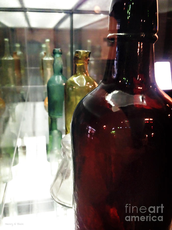 Bottels In A Row Photograph