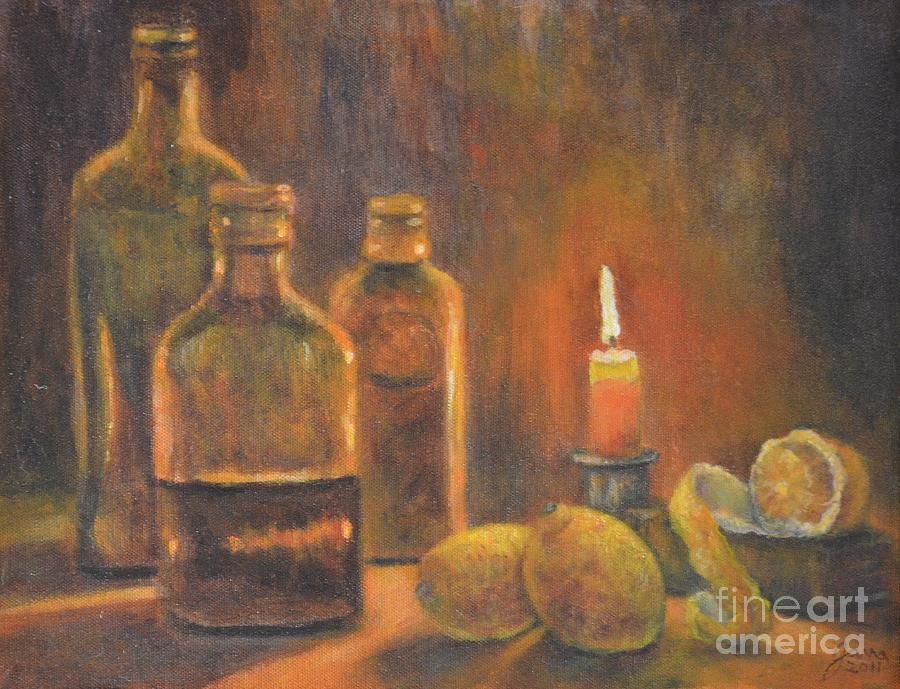 Bottles of Light by Jana Baker