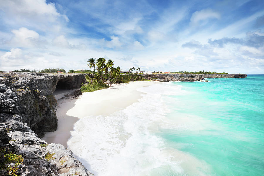 Bottom Bay, Barbados Photograph by Tomml