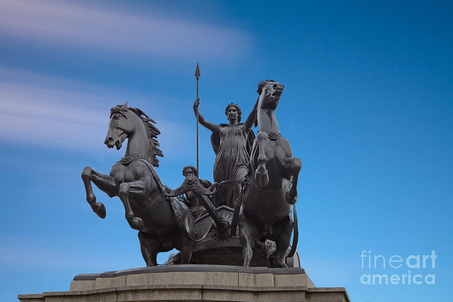 Boudicca Photograph - Boudicca by Pete Reynolds