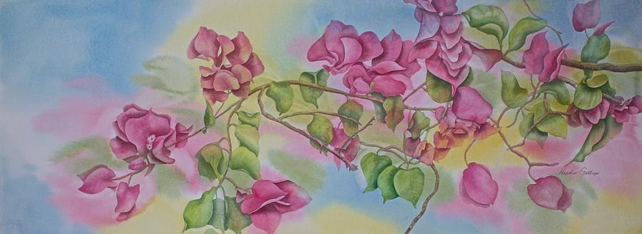 Bougainvillea Painting - Bougainvillea Dream by Heather Gallup