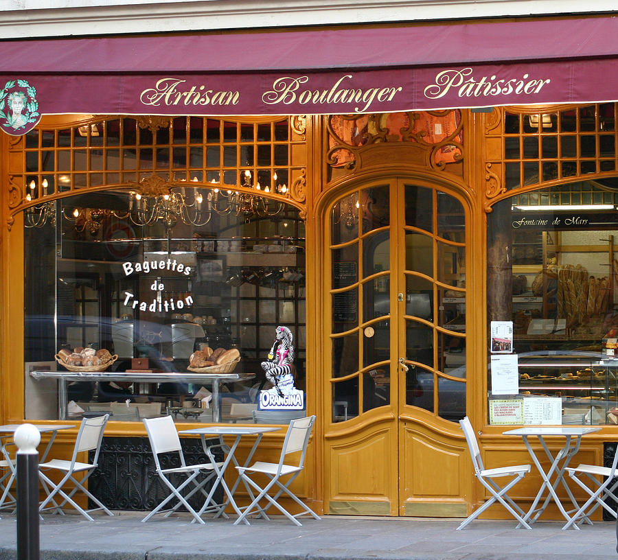 Paris Photograph - Boulangerie by A Morddel