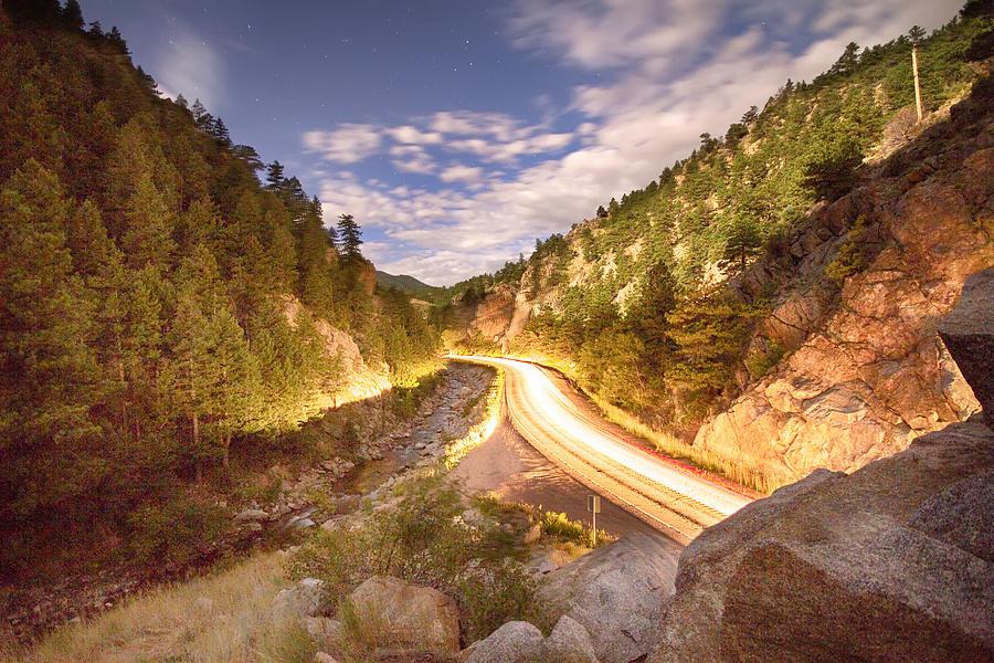 Night Photograph - Boulder Canyon Dreamin by James BO  Insogna