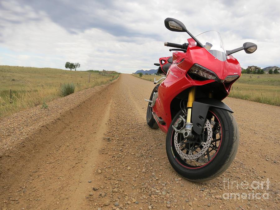 Motorcycle Photograph - Boulder Colorado by AntiHero