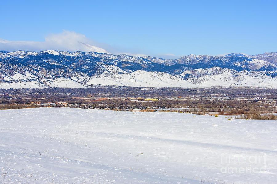 Boulder Colorado Photograph